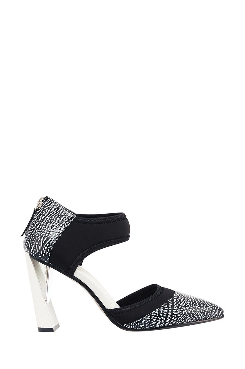 Купить Туфли Из Текстурированной Кожи Zink D'Orsy Hi