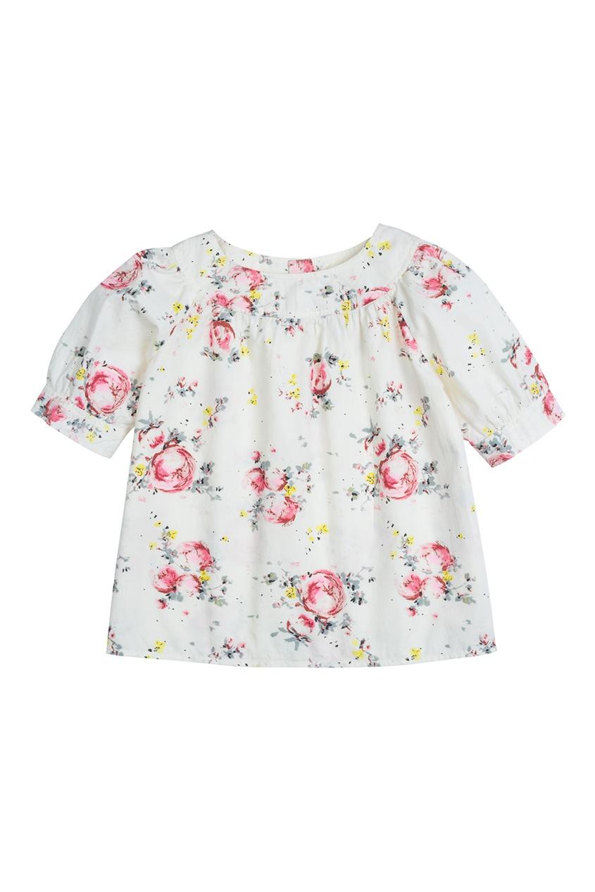 Bonpoint Блуза GARETH из хлопка bonpoint блуза с принтом gazelle