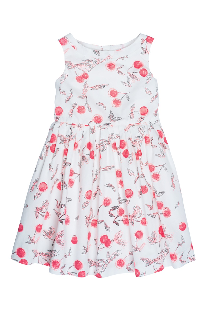 Bonpoint Платье ALINA с принтом bonpoint кожаный портфель с контрастными деталями