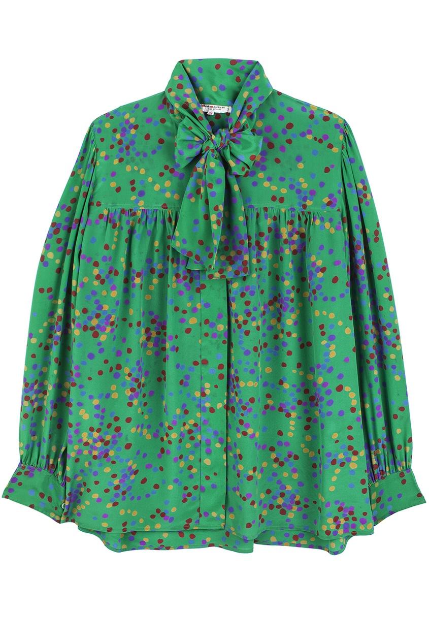 Шелковая блузка (80-е гг.)