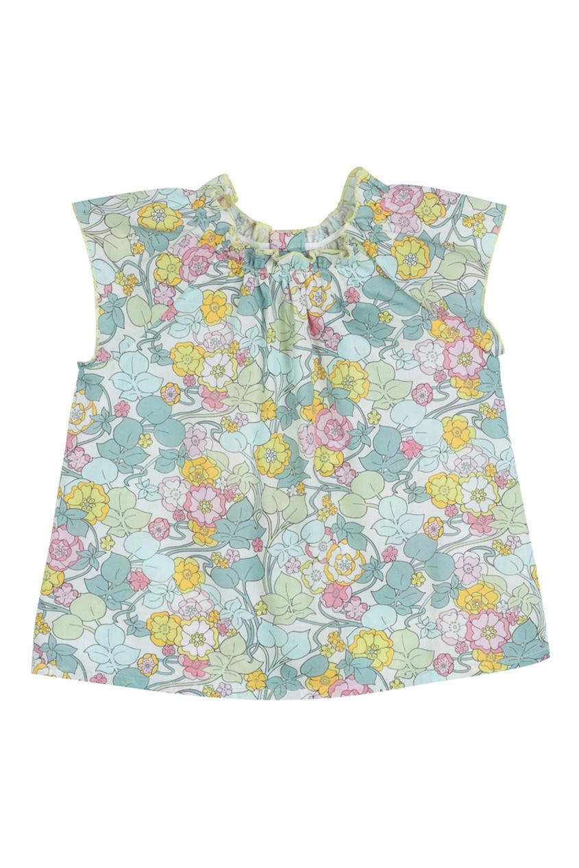 Bonpoint Разноцветное хлопковое платье CADELILI