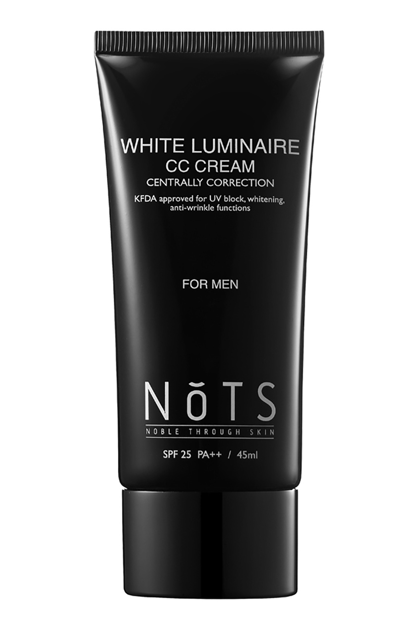NoTS CC крем мужской SPF25 / CC Cream for men SPF25 White Luminaire, 45 ml cc крем bell cc cream smart make up 23 цвет 23 sunny variant hex name ce9c77