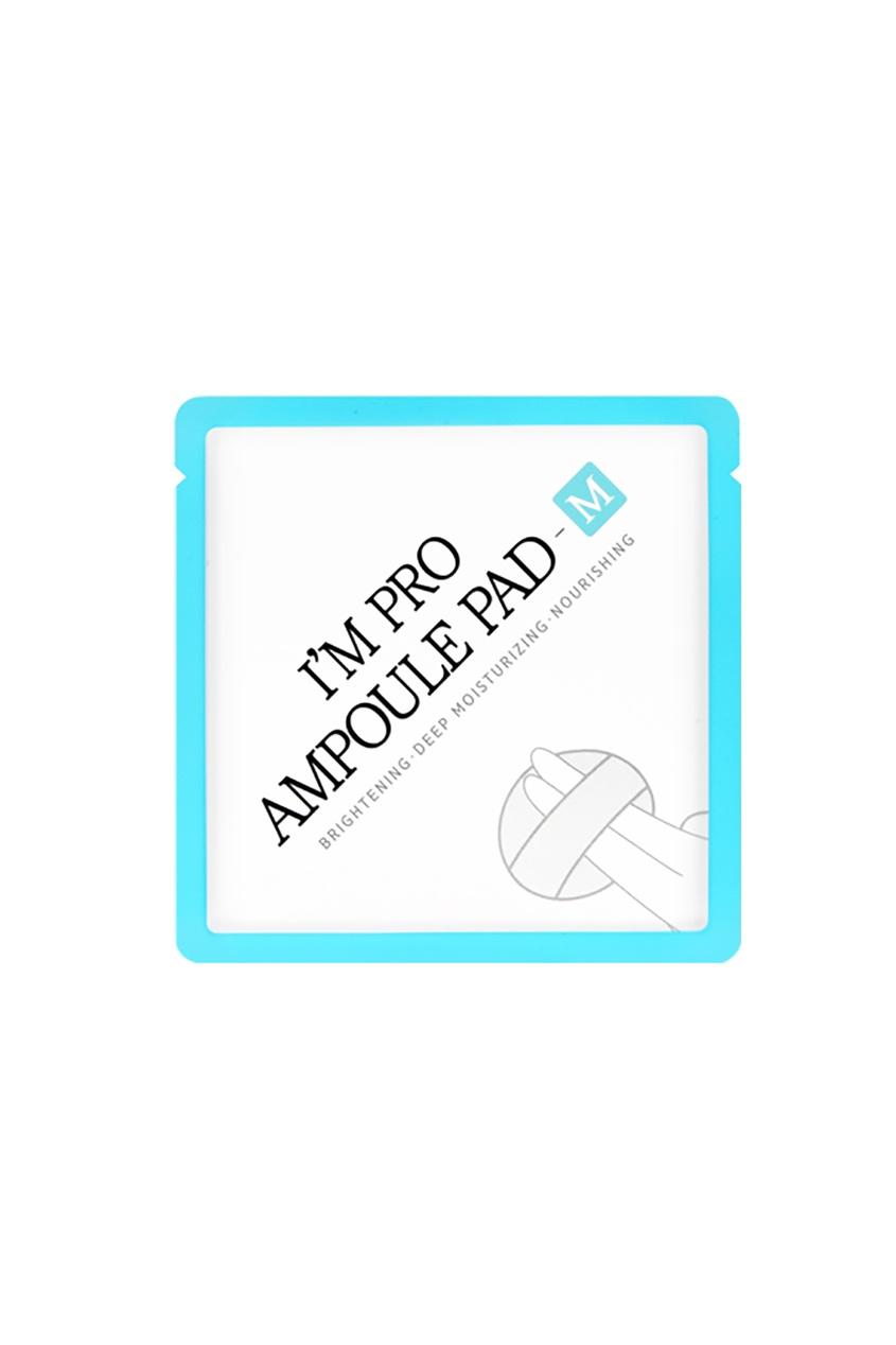 Спонж-салфетка с ферментированной сывороткой актив М / I'm Pro Ampoule M Pad, 10 шт.