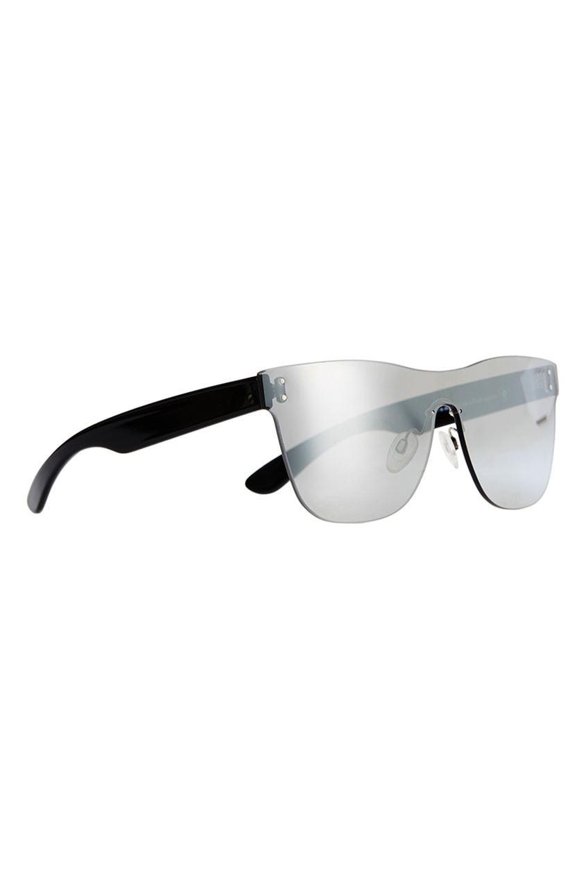 Серебристые солнцезащитные очки