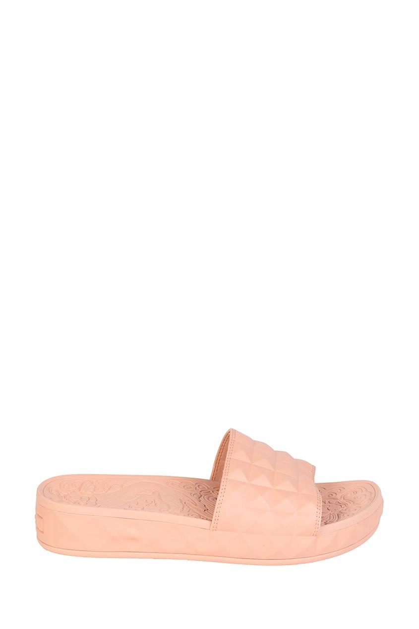 Бежевые текстурированные сандалии Splash