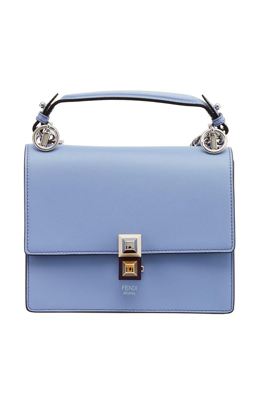 женская сумка fendi, синяя