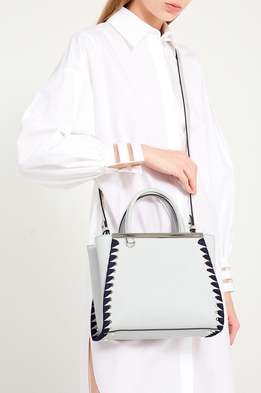 женская сумка fendi, серая