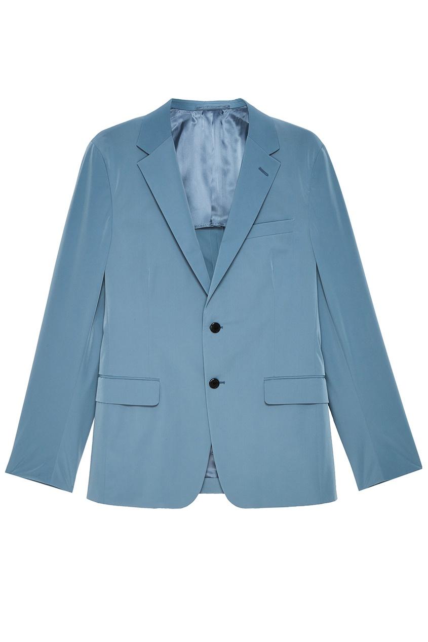 Фактурный однобортный пиджак