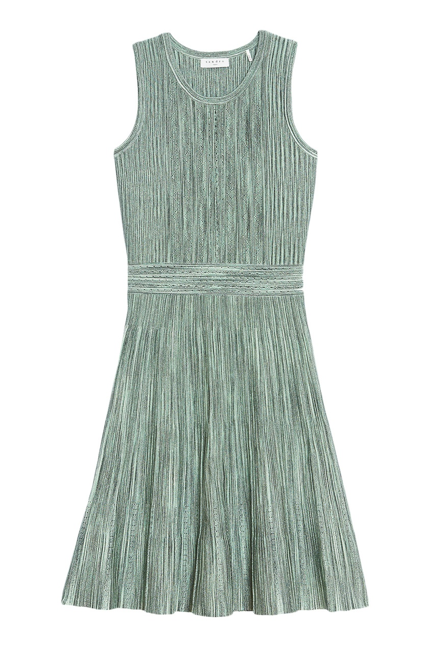 Sandro Короткое зеленое платье
