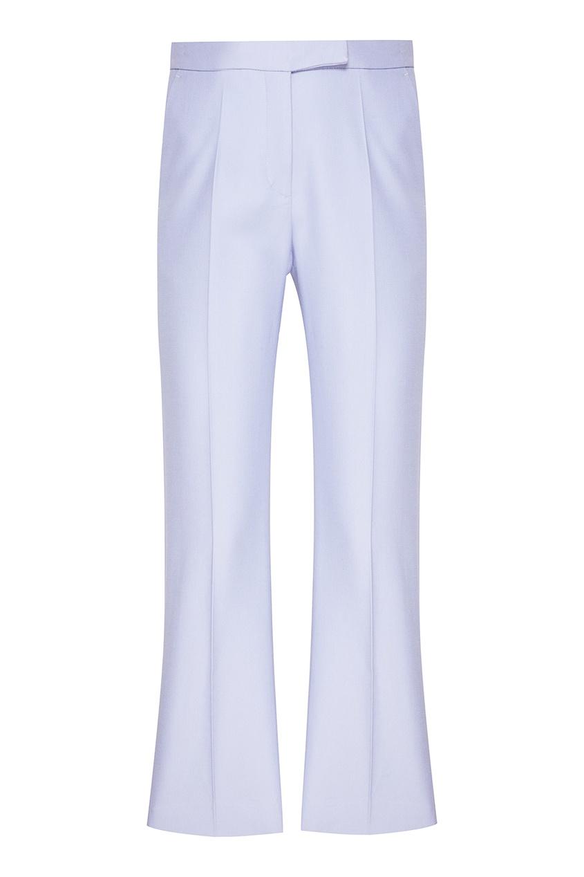 Лавандовые брюки со стрелками