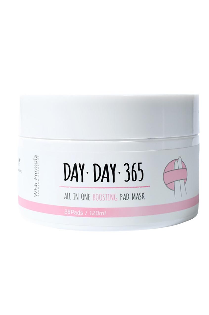 Wish Formula Восстанавливающие диски для лица День за днём 365 / All in one Boosting Pad Mask, 28 шт i wish