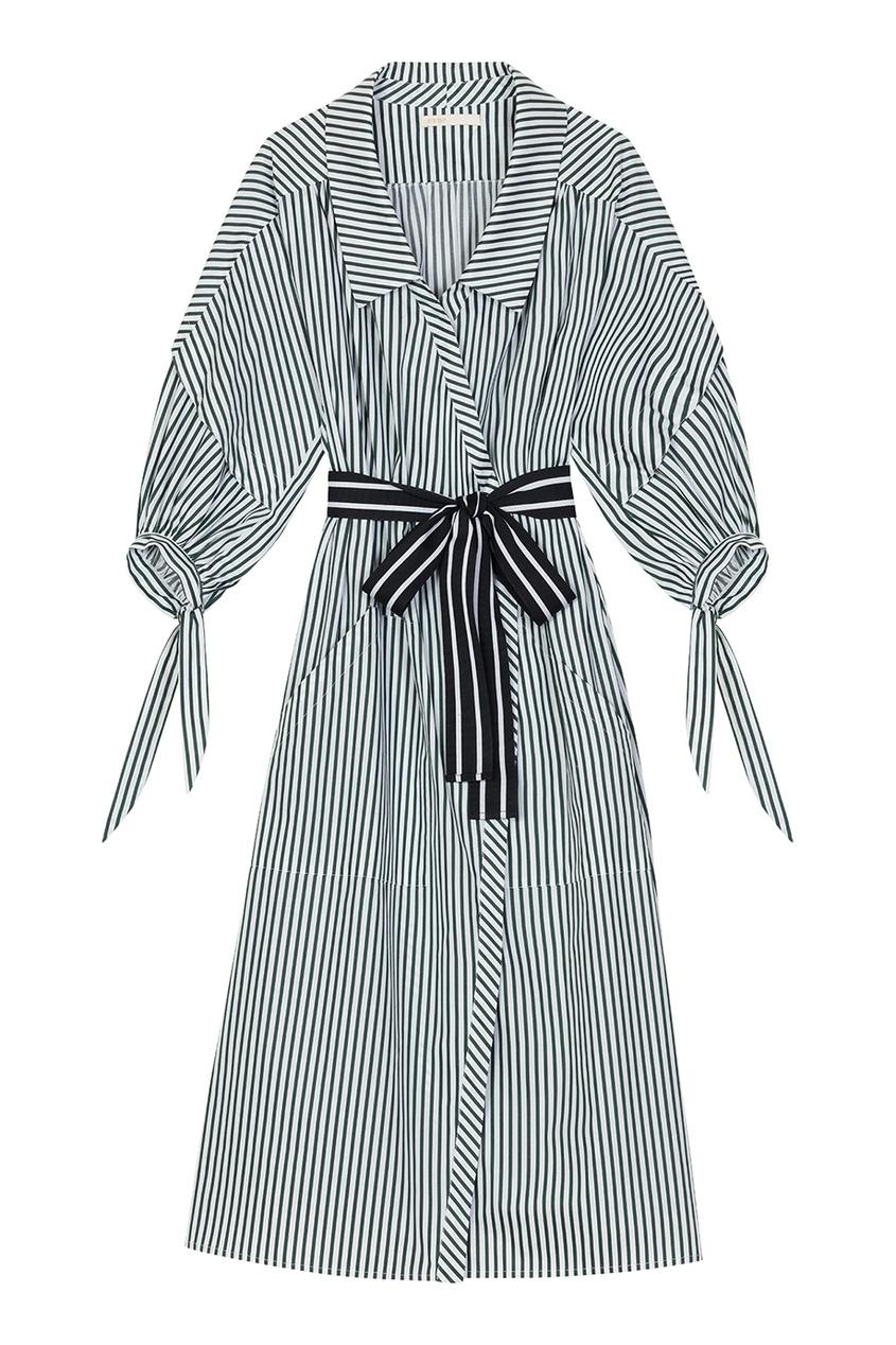 Maje Платье-рубашка в полоску платье рубашка в полоску dynastie