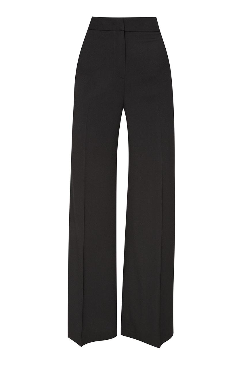 MSGM Широкие черные брюки elizabeth and james широкие брюки