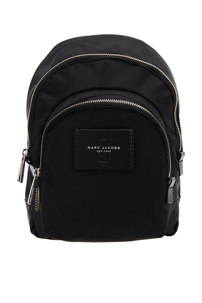 Marc Jacobs Черный текстильный рюкзак