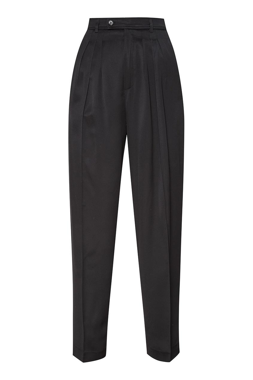 Golden Goose Deluxe Brand Черные брюки со складками