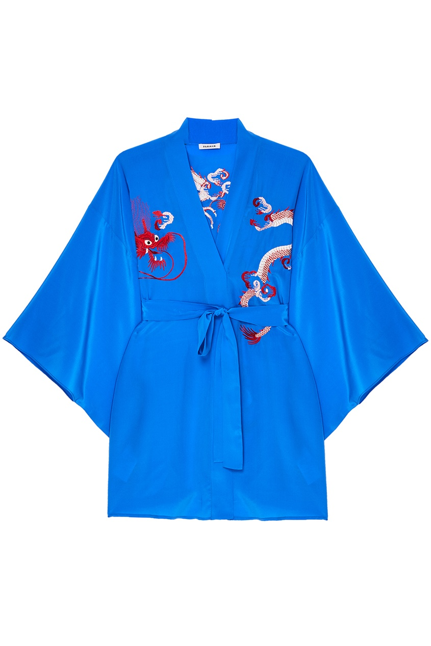 P.A.R.O.S.H. Шелковая блузка с драконами
