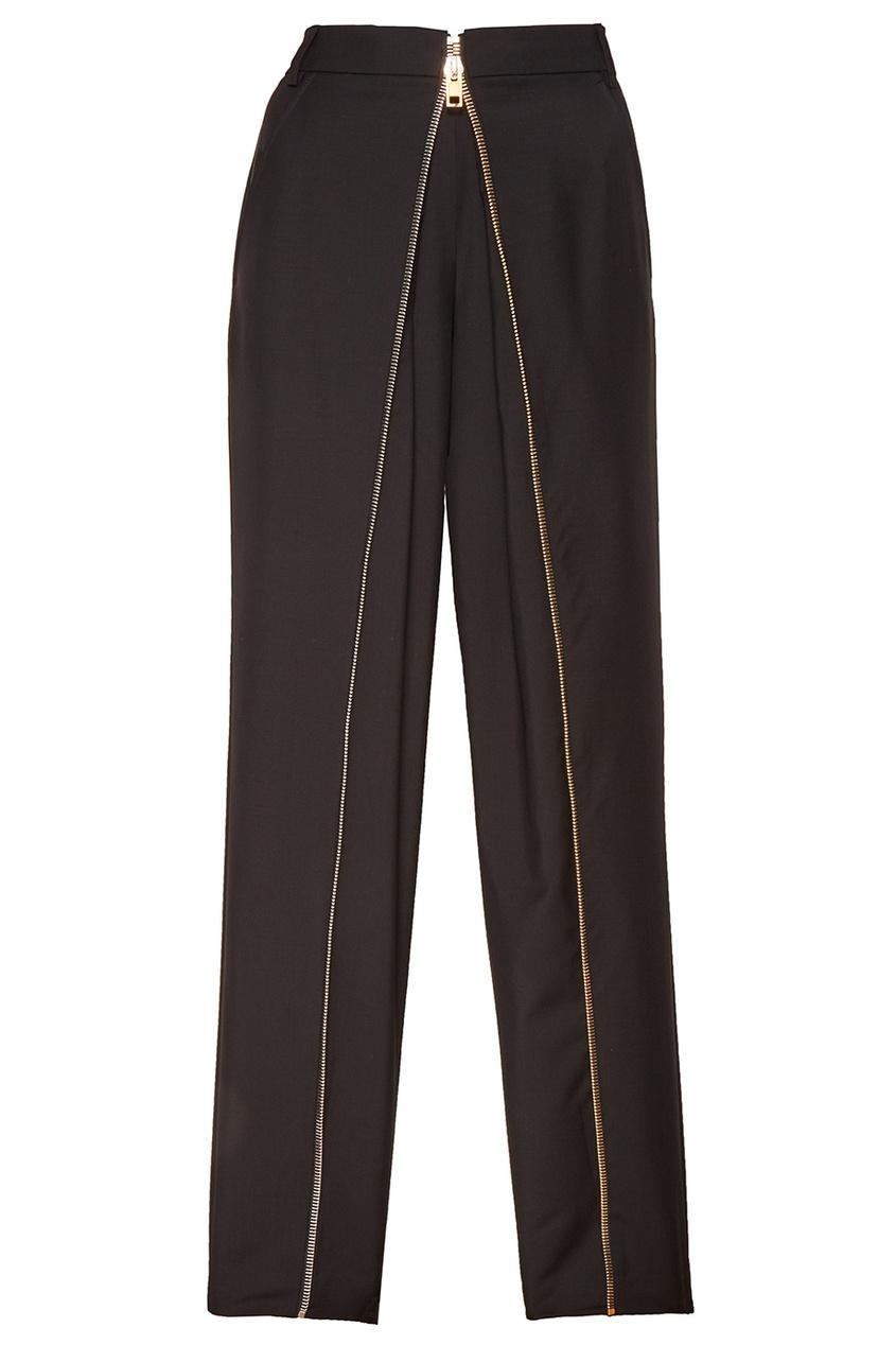 Alexander Wang Черные брюки с молнией