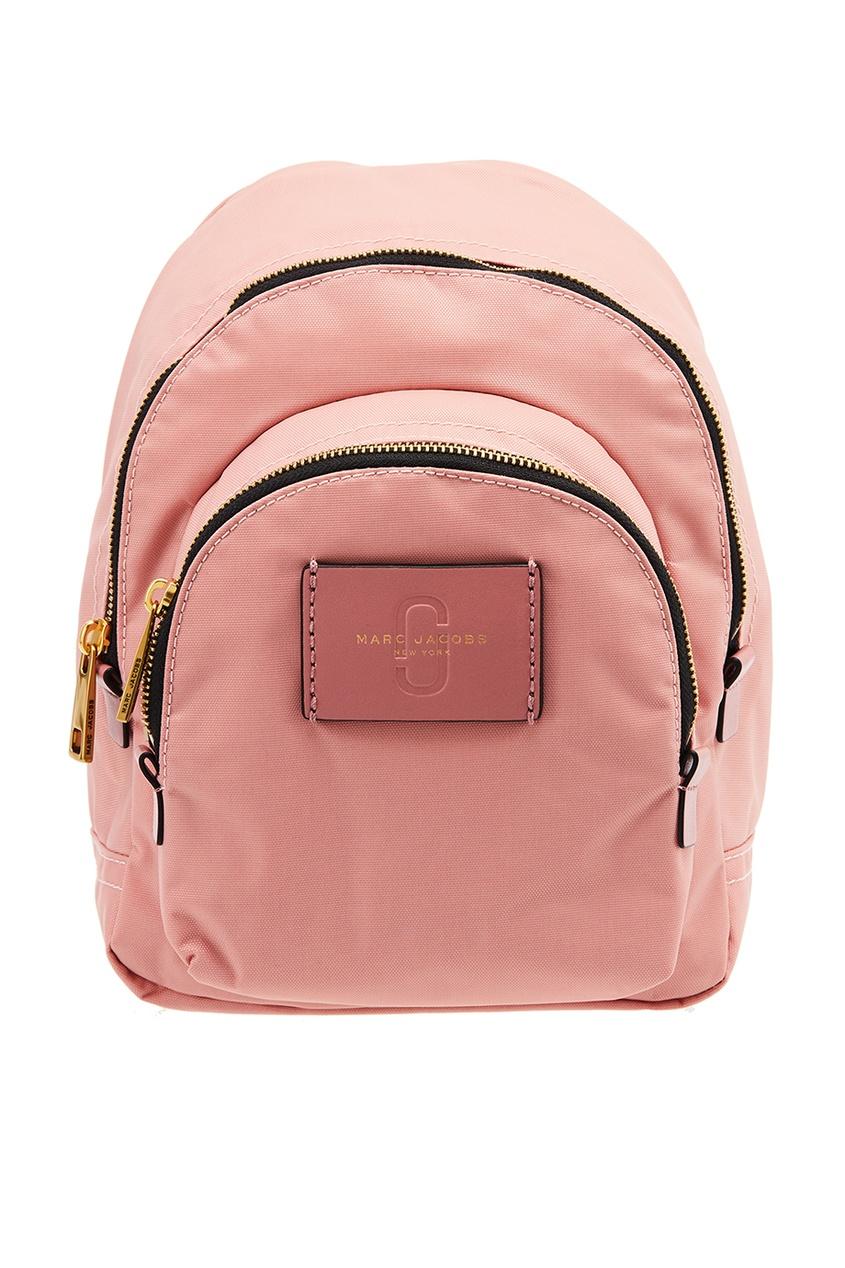 Marc Jacobs Розовый текстильный рюкзак