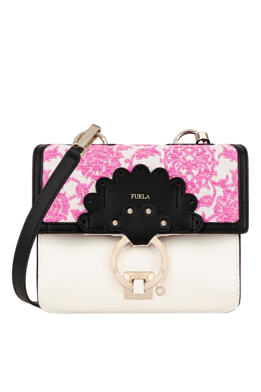 FURLA Комбинированная сумка Scoop кошелек furla furla fu003bwzle26