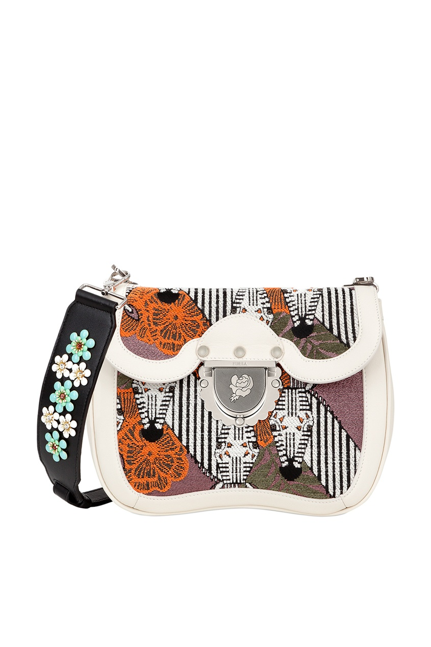 FURLA Комбинированная сумка Ducale кошелек furla furla fu003bwzle26