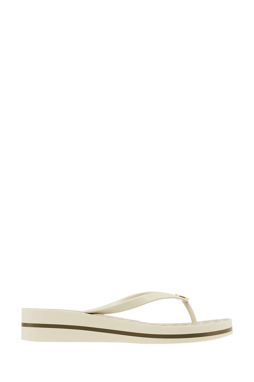 Michael Kors Белые сандалии с логотипом сандалии michael michael kors michael michael kors mi048awacwp4