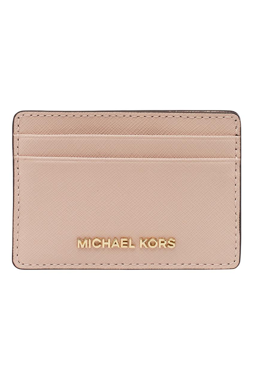 Michael Kors Розовый футляр для карт Money Pieces