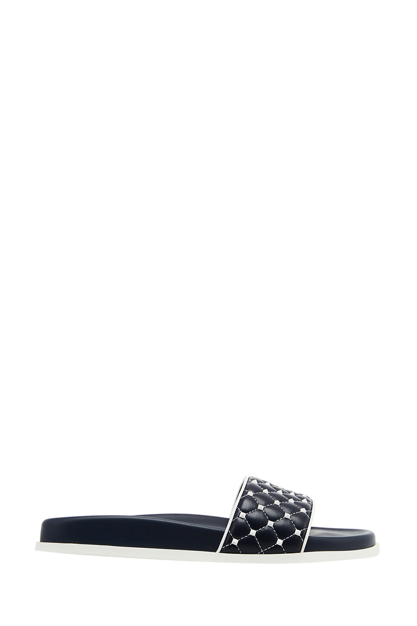 Кожаные сандалии с шипами VALENTINO