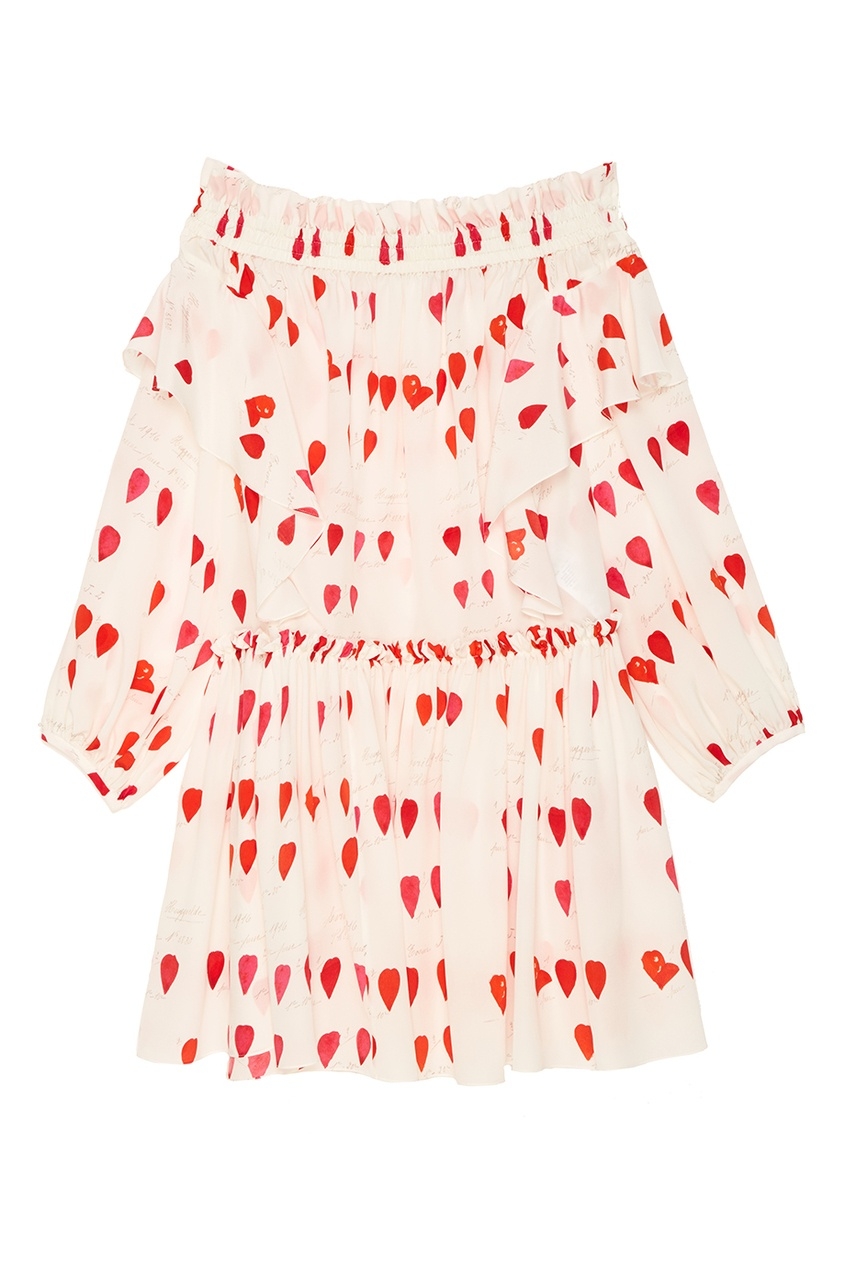 Купить со скидкой Платье с открытыми плечами