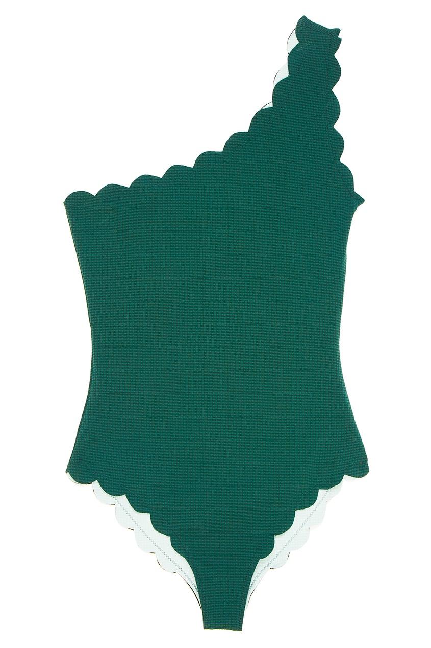 Marysia Зеленый асимметричный купальник Santa Barbara marysia слитный красный купальник santa clara