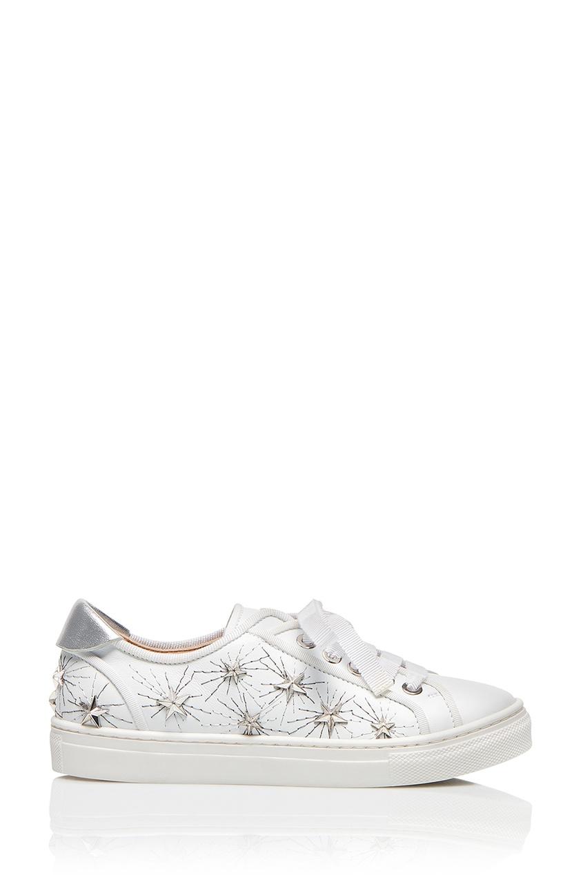 Aquazzura Children Кеды Cosmic Star L.A. Sneaker Mini tutuyu breathable air mesh kids shoes 2017 new fashion children sneakers for girl sport children shoes boys sneaker g888