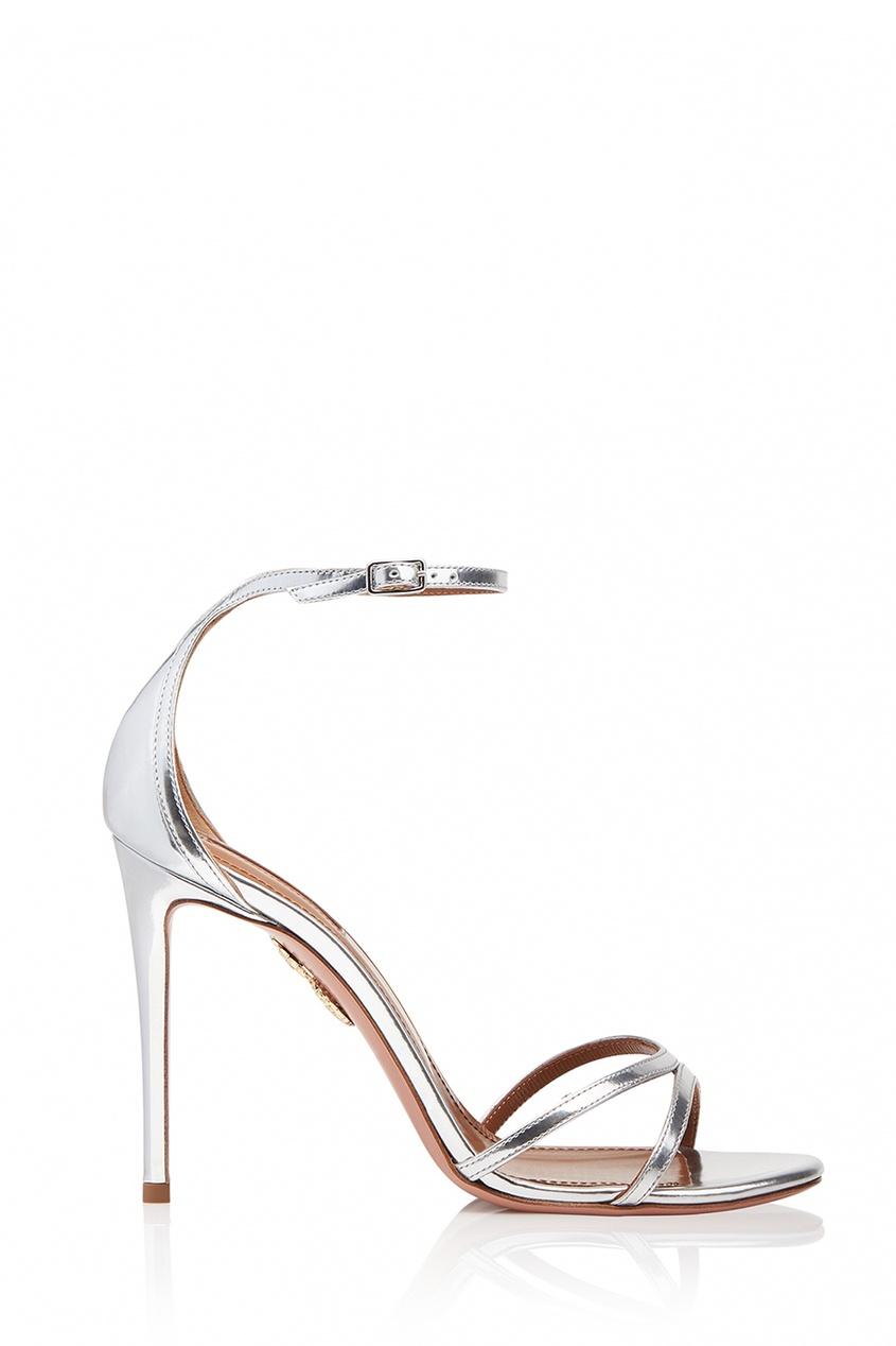 Серебристые босоножки Purist Sandal 105