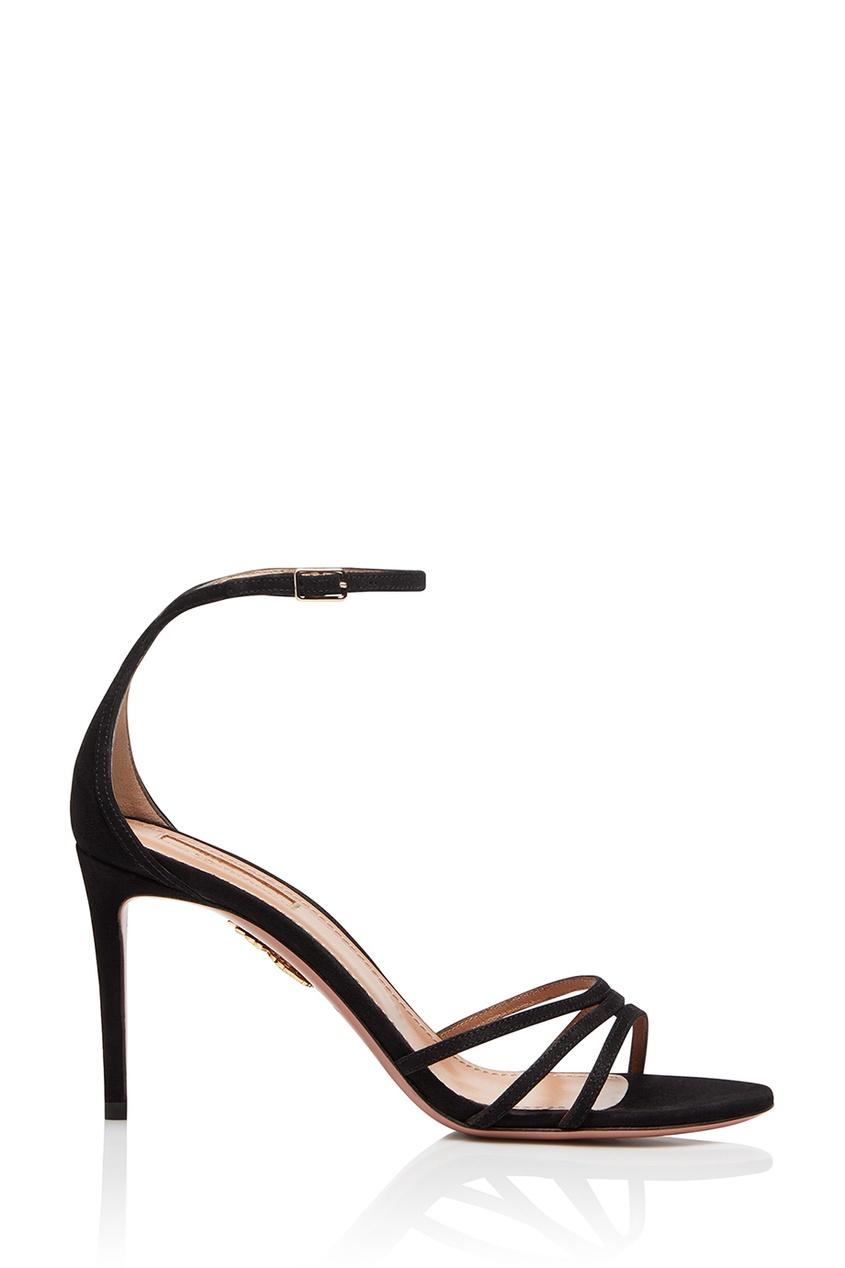 Черные босоножки Very Purist Sandal 85