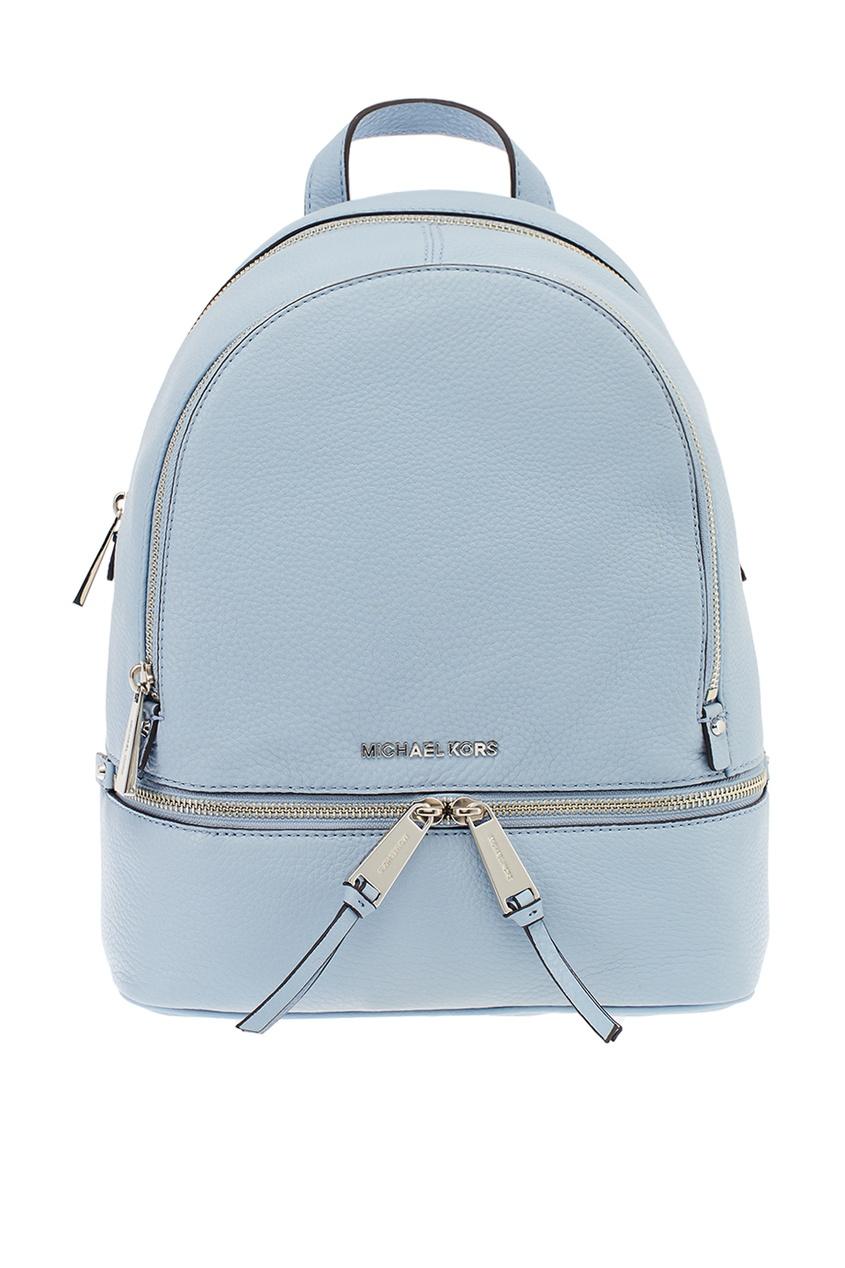 Michael Kors Бледно-голубой рюкзак Rhea Zip