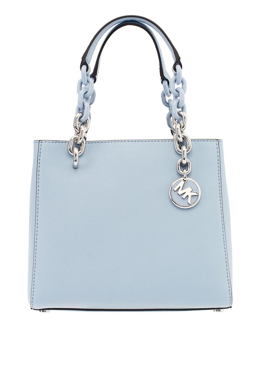 Michael Kors Голубая сумка Cynthia