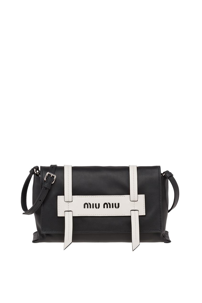 Черная кожаная сумка Grace Luxe