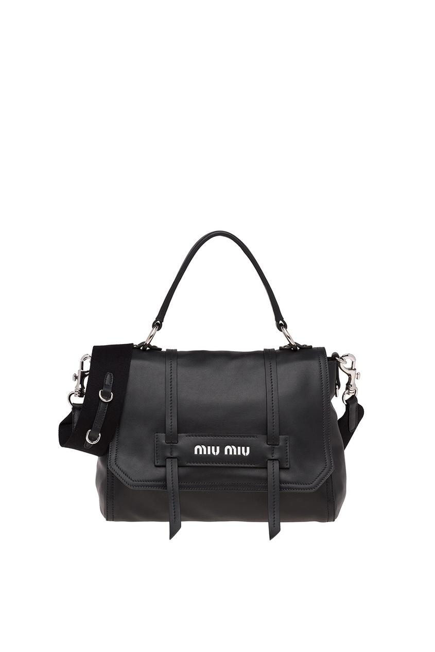 Черная сумка с плечевым ремнем Grace Luxe