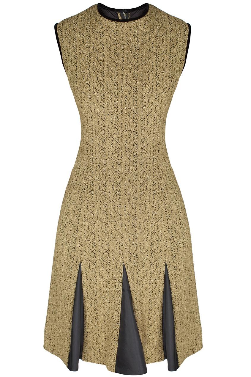 Suzy Perette Vintage Платье из парчи (60-е гг.)