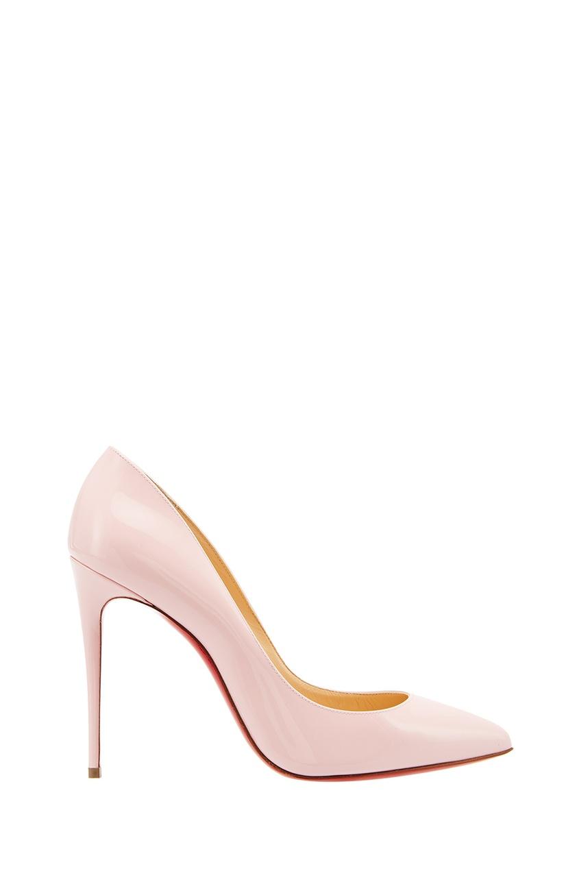 Туфли из лакированной кожи Pigalle Follies 100