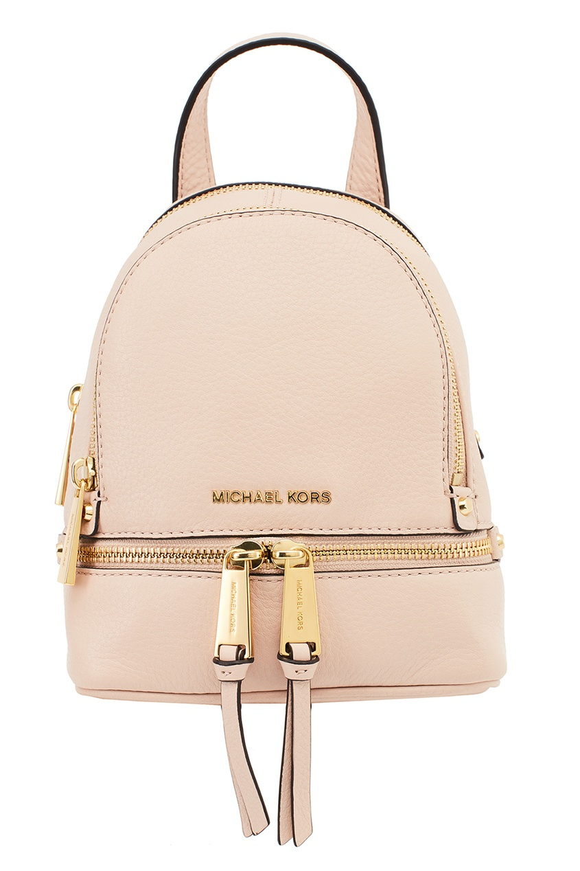 Michael Kors Розовый рюкзак Rhea Zip