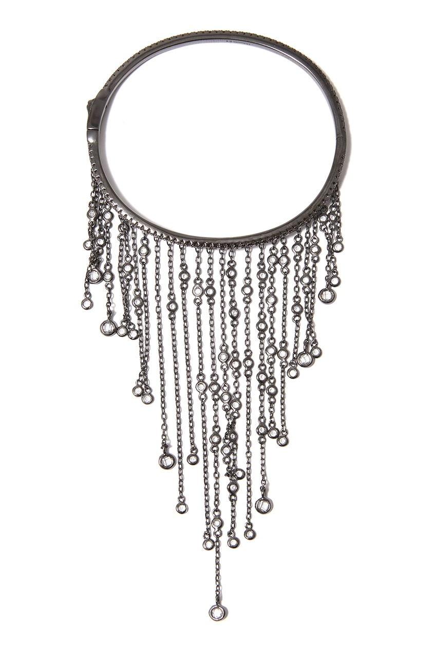Dzhanelli Jewellery Браслет с бахромой из цепочек