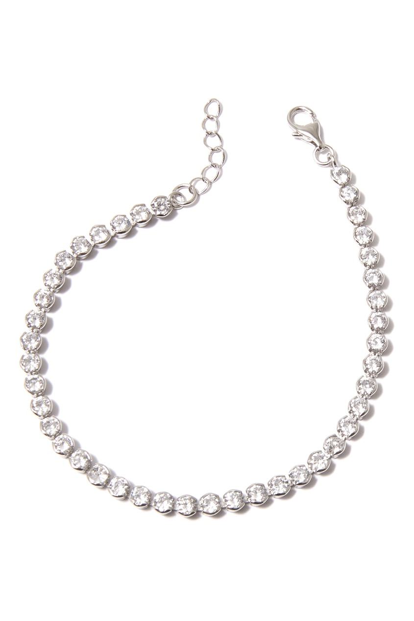 Dzhanelli Jewellery Браслет с прозрачными фианитами caviar jewellery браслет true love
