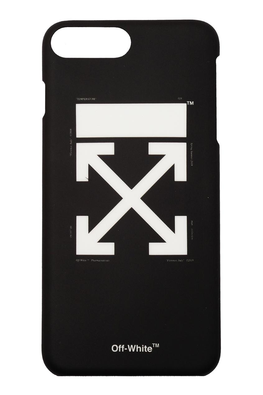 Off-white Черно-белый чехол для iPhone 8/7 Plus