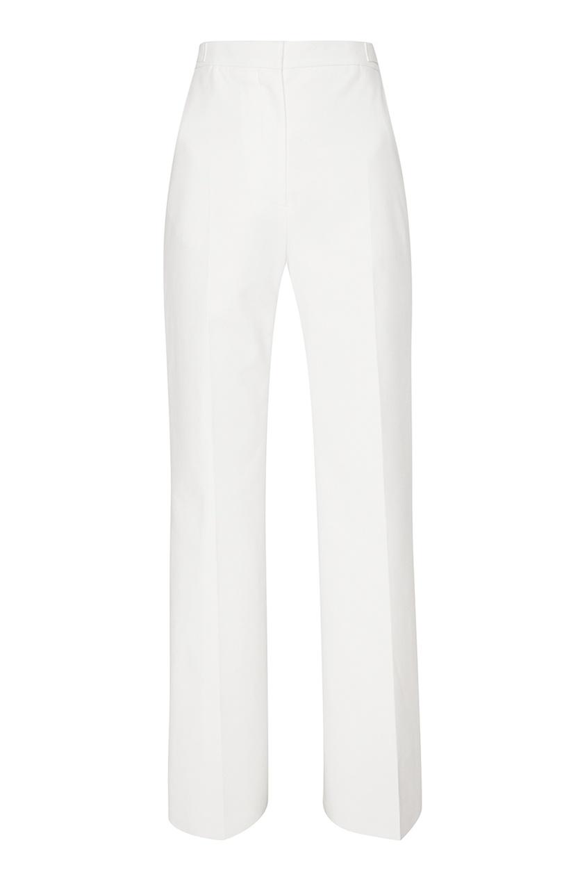 Rochas Белые брюки со стрелками