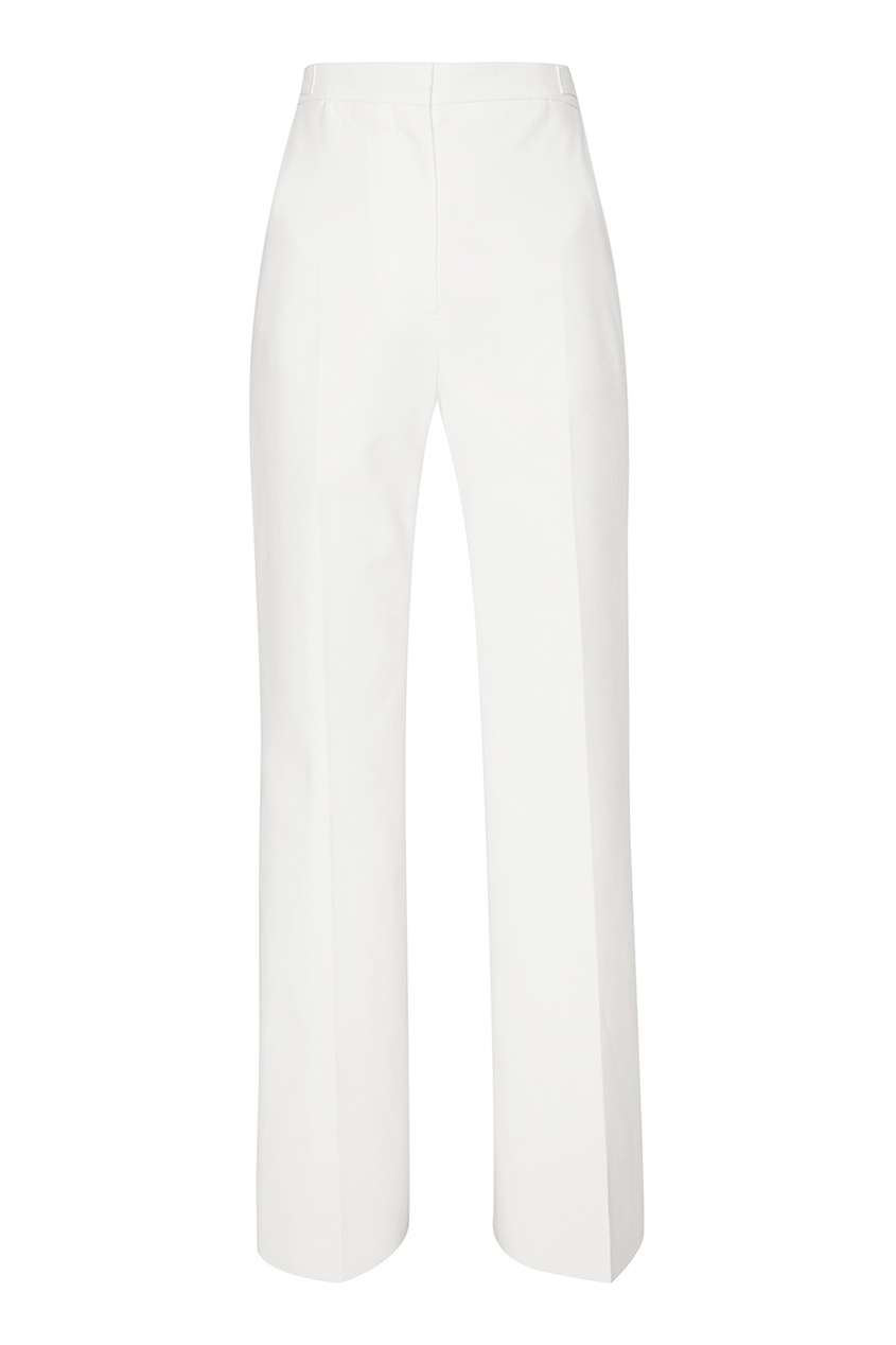 женские брюки rochas, белые
