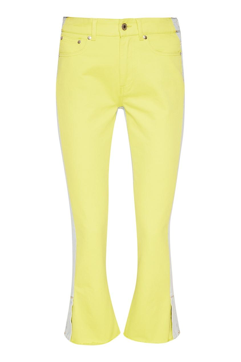 MSGM Ярко-желтые джинсы