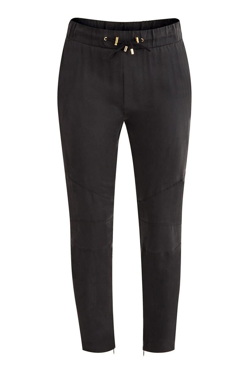 женские брюки balmain, черные