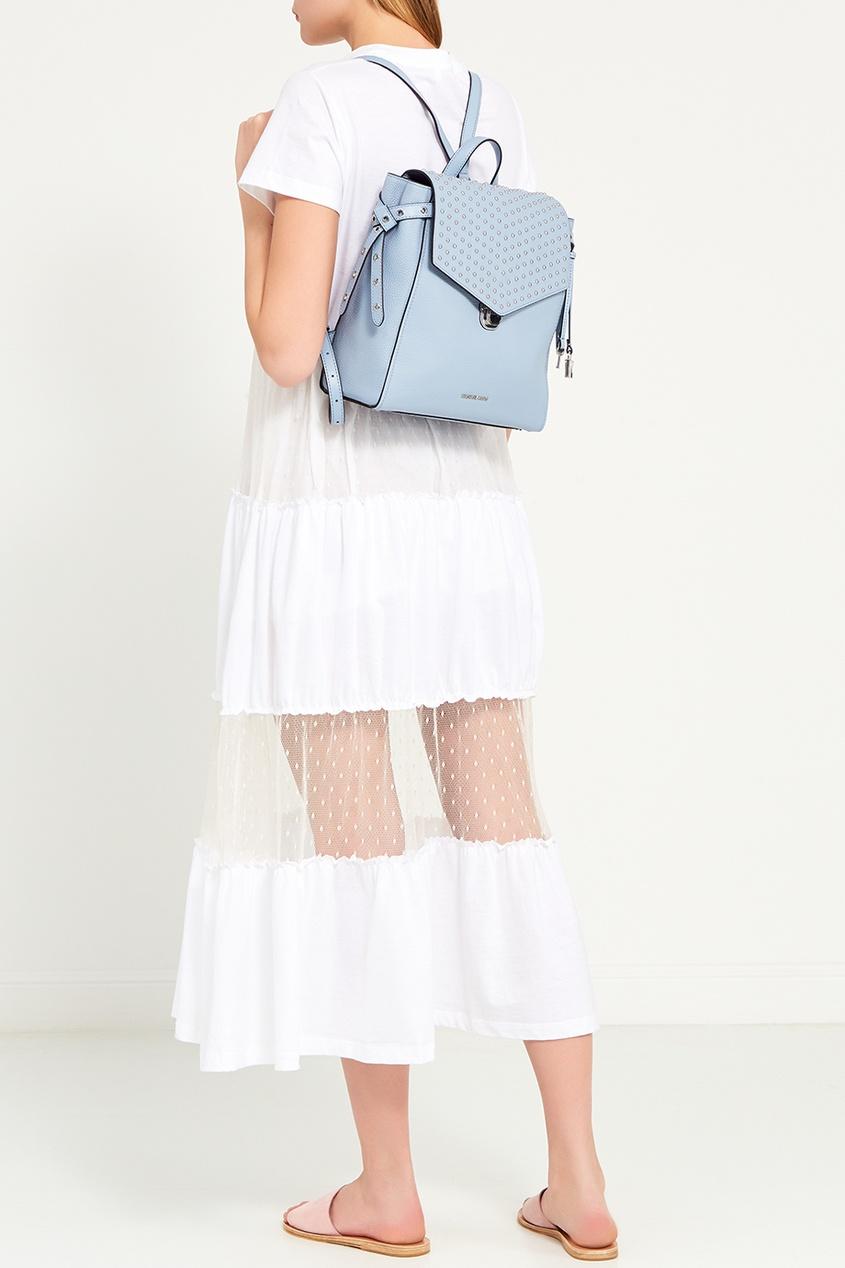 женский рюкзак michael kors, голубой