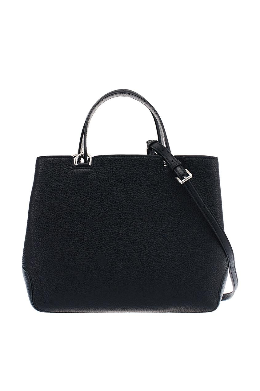 Michael Kors Черная кожаная сумка Annabelle сумка michael kors 2015