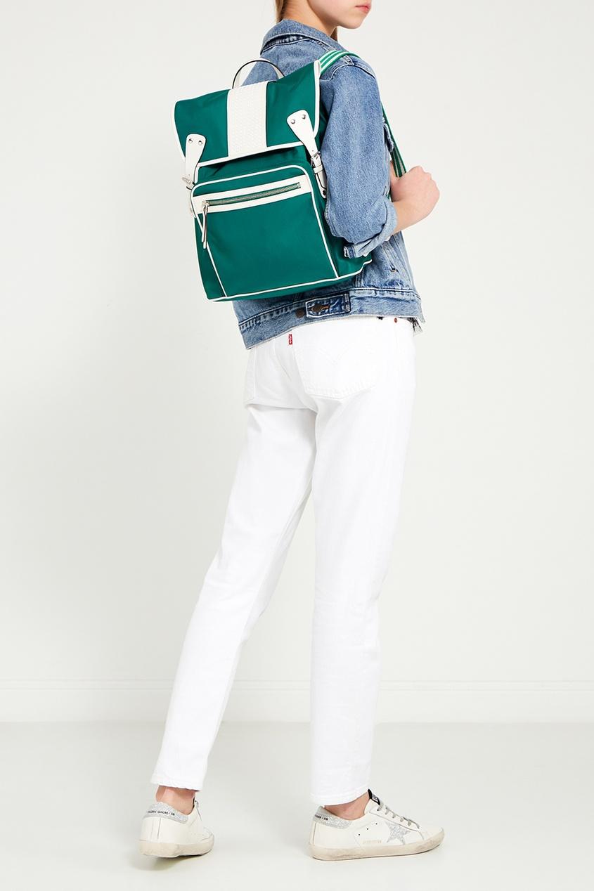 женский рюкзак red valentino, зеленый