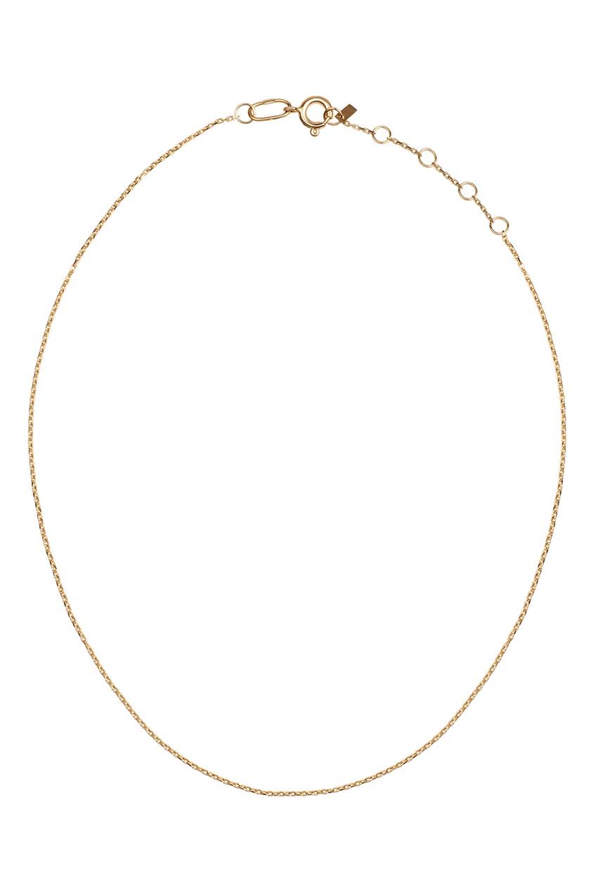 Dusty Rose Чокер-цепочка из желтого золота